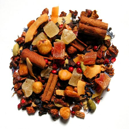 Infusiones de frutas y especias