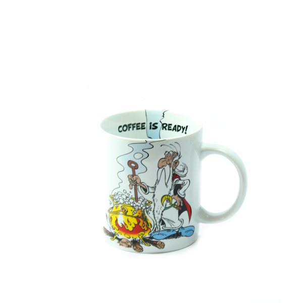 TAZA ASTERIX COFFEE IS READY!