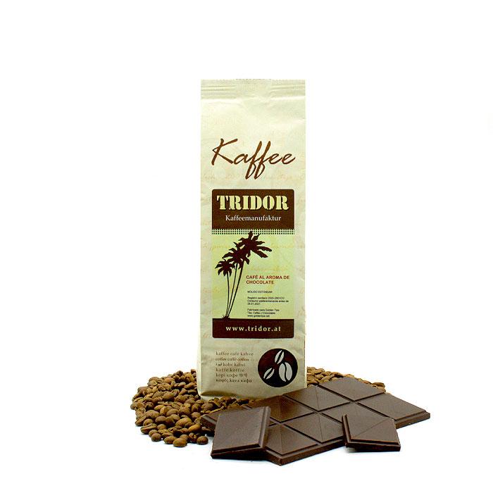 CAFÉ ARÁBICA AROMATIZADO CON CHOCOLATE