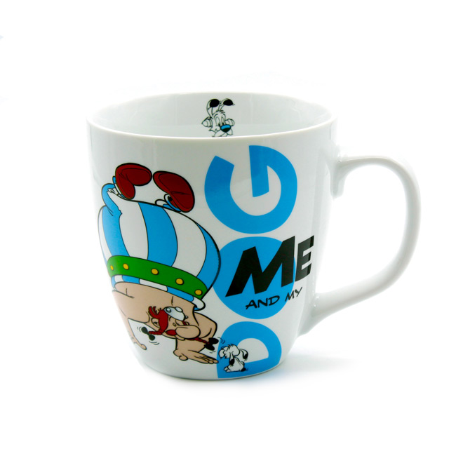 TAZA ASTERIX  ME AND MY DOG