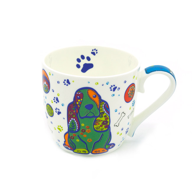 TAZA COLORFUL DOG