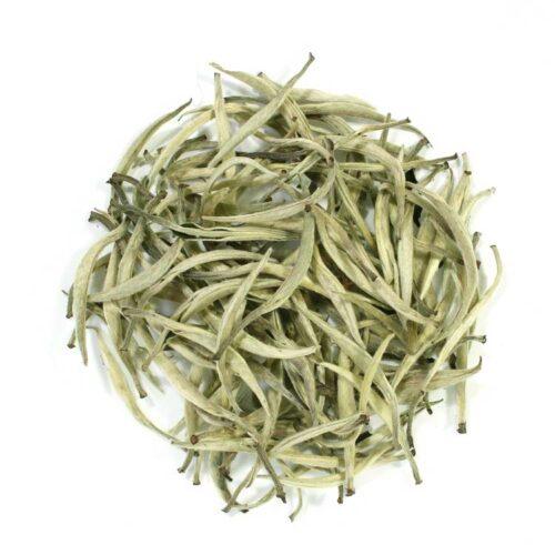 Té blanco, té blanco silver needle premium bio, tienda de té málaga